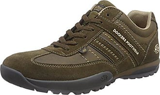 Unisex 42AN601-700100 Low-Top Sneakers, Black (Schwarz 100), 7.5 UK Dockers by Gerli