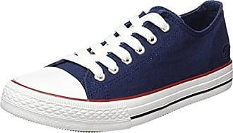 Dockers by Gerli 37IE201-700676, Damen Sneakers, Blau (Dunkelblau/Blau 676), 37 EU