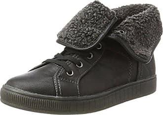 Colors of california Hcskech5 Hcskech5_Noir (Black) - Zapatillas de deporte de tela para mujer, color negro, talla 40