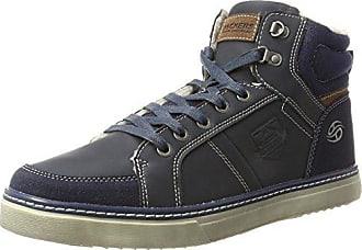 Dockers by Gerli 32LN213-626600, Damen Hohe Sneakers, Blau (Blau 600), 36 EU