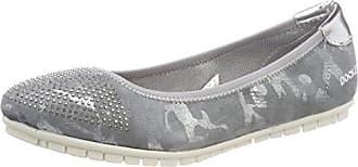 Dockers by Gerli 42da203-680550, Zapatillas para Mujer, Marrón (Silber 550), 37 EU