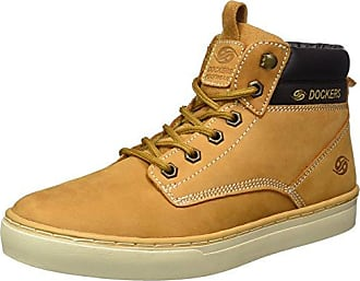 Mens 41mc103-610 Hi-Top Trainers, Brown, 7 Dockers by Gerli