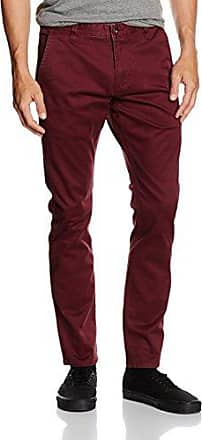 BIC ALPHA ORIGINAL SKINNY - STRETCH TWILL, Pantalon Homme, Rouge (DARK RUSSET), W36/L32 (Taille fabricant: 36)Dockers