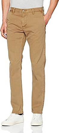 New BIC Tapered-Mist Wash Bi Stretch Twill, Vaqueros Slim para Hombre, Marrón (Flaxseed 25), W38/L32 Dockers