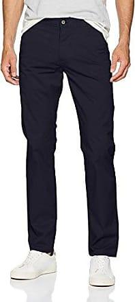 Washed Khaki Skinny-Stretch Twill, Pantalones para Hombre, Azul (Pembroke 0002), W40/L34 Dockers