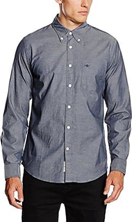 Weathered Oxford Shirt - LS, Camisa Hombre, Multicolor (Birch Warm Cabernet), XX-Large Dockers