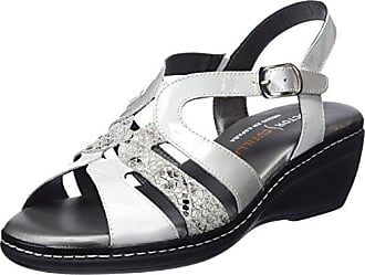 Dr. Cutillas 47251, Zapatillas de Deporte para Mujer, Dorado (Grafito), 41 EU
