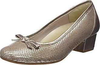 81107, Zapatos de Tacón con Punta Cerrada para Mujer, Marrón (Mijares), 40 EU Doctor Cutillas