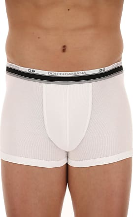 Briefs for Men On Sale, White, Pima Cotton, 2017, L (EU 5) XL (EU 6) Dolce & Gabbana