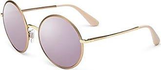 Womens 0DG2157 12945R Sunglasses, Matte Pink Gold/Darkgreymirrorpink, 59 Dolce & Gabbana