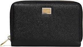 Dolce & Gabbana Woman Polka-dot Textured-leather Wallet White Size Dolce & Gabbana