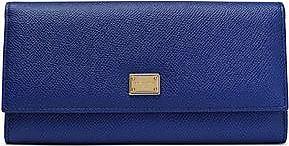 Dolce & Gabbana Woman Polka-dot Textured-leather Wallet White Size Dolce & Gabbana