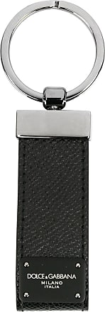 Dolce & Gabbana logo plaque keying - Black