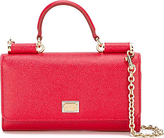 Shoulder Bag for Women On Sale, Pink, Leather, 2017, one size Dolce & Gabbana