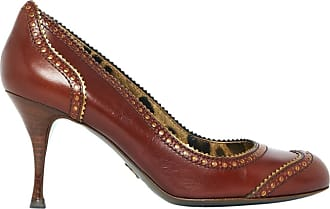 Pre-owned - Leather heels Dolce & Gabbana