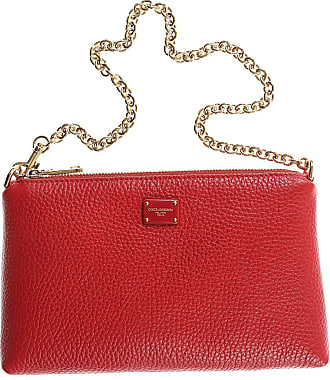 Womens Pouch On Sale, White, Leather, 2017, one size Dolce & Gabbana