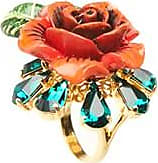 Dolce & Gabbana roseto gipsy ring