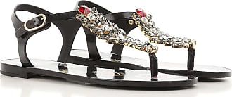Sandals for Women On Sale, Black, Rubber, 2017, 2.5 3.5 4.5 5.5 7.5 Dolce & Gabbana