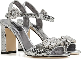 Womens Shoes On Sale in Outlet, Silver, Leather, 2017, 2.5 3 6 Dolce & Gabbana