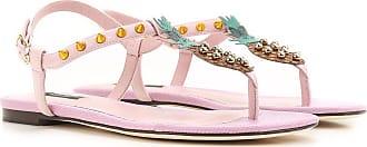 Sandalias de Mujer Baratos en Rebajas Outlet, Rosa, PVC, 2017, 35 Dolce & Gabbana
