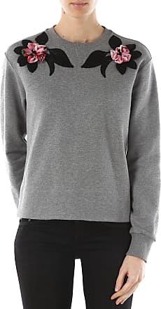 Sweatshirt for Women On Sale in Outlet, Agata Grey, Cotton, 2017, 8 Dolce & Gabbana