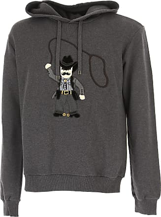 Sweatshirt for Men On Sale, Grey, Cotton, 2017, XL Dolce & Gabbana