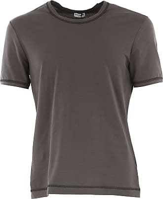 Camiseta de Hombre Baratos en Rebajas, Negro, Algodon, 2017, M S Dolce & Gabbana