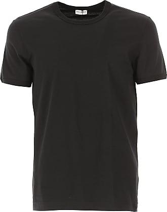 Camiseta de Hombre Baratos en Rebajas Outlet, Negro, Algodon, 2017, M Dolce & Gabbana