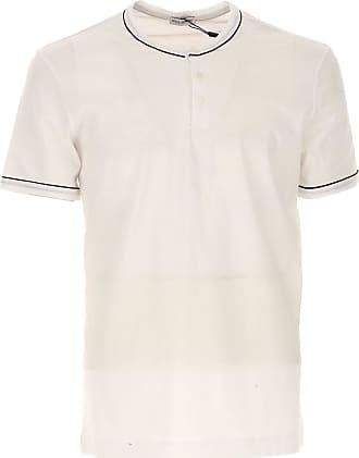 Camiseta de Hombre Baratos en Rebajas, Azul Claro, Algodon, 2017, L M S XL XXL Dolce & Gabbana