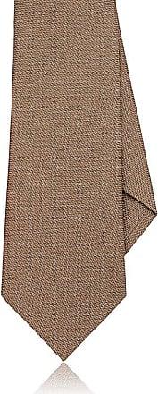 Mens Zigzag-Print Silk Necktie Dolcepunta