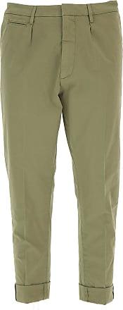 Pants for Women On Sale, Beige, Wool, 2017, 24 26 28 6 8 Dondup