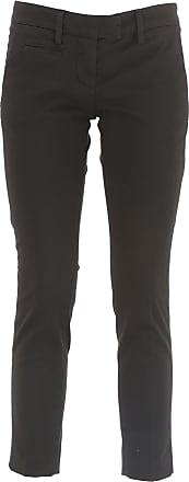 Pantalones de Hombre, Pantalón Baratos en Rebajas Outlet, Azul Medianoche, Lana, 2017, 50 Dondup