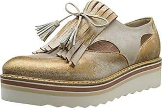 Donna PIU Marina - Zapatos Mujer, Dorado - Or (Dory Camel), EU 41