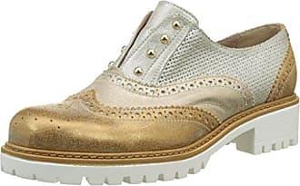Donna PIU Ave, Zapatos de Cordones Oxford para Mujer, Argent (Osso/Ghiaccio 003), 40 EU