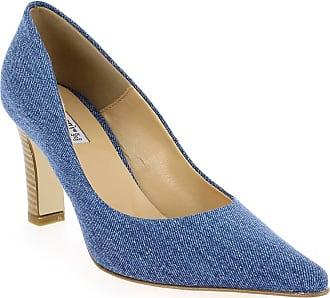 Maty, Escarpins Bout Fermé Femme - Bleu (Jutta Jeans) - 41Donna Più