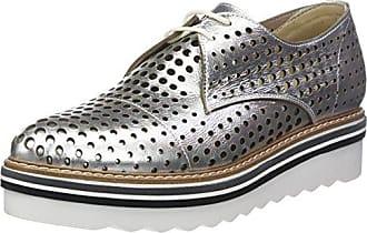 Donna PIU 51927 Ruby, Zapatos de Cordones Derby para Mujer, Multicolore (Gozzy Roccia/Sun Osso), 41 EU Donna Più