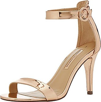 Fabia, Sandales Bout Ouvert Femme, Or (Gold 210), 36 EUDorothy Perkins