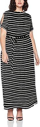 Dorothy Perkins Curve Simple Tie Up Jersey, Vestido para Mujer, Negro (Black 130), 50