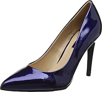 XTI 030489, Zapatos de Tacón con Punta Cerrada para Mujer, Azul (Navy Navy), 38 EU