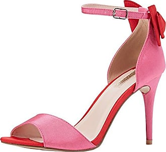 Dorothy Perkins 19967214 - Punta Abierta de Sintético Mujer, Color Rosa, Talla 38