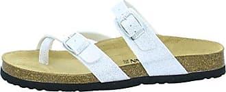 Dr. Brinkmann Damen Pantoletten 7008 Größe 39 Weiß (Weiß)