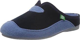 Dr. Brinkmann Damen 320418 Pantoffeln, Blau (Blau), 36 EU