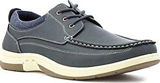 Dr Keller Beiläufiger Schuh im Grau mit Spitzeen für Männer durch Größe 7 UK/40.5 EU - Grau