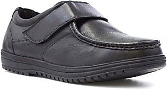 Dr Keller Schwarze Spitze Herauf beiläufigen Schuh für Männer - Größe 9 UK/43 EU - Schwarz