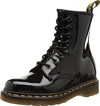 Dr. Martens DARCIE - Zapatos de charol para mujer, color negro, talla 38
