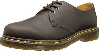 Dr. Martens Pressler, Zapatillas Unisex Adulto, Marrón (Dark Brown 201), 48 EU