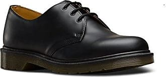 Dr. Martens 1461 PW Smooth, Zapatos con Cordones para Hombre, Rojo (Cherry Red), 44 EU