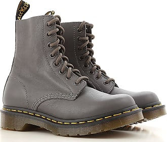 Boots for Women, Booties On Sale, Lead, Leather, 2017, US 5 - UK 3 - EU 36 Dr. Martens