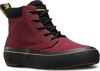 Dr. Martens Damen Monet Canvas Stiefel, Rot (Cherry Red Canvas), 39 EU