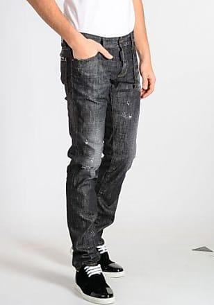 15 cm Stretch Cotton Denim TIDY BIKER Jeans Fall/winter Dsquared2